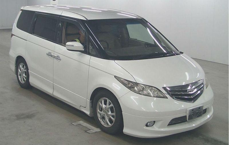 fresh import 54 plate honda elysion step wagon petrol v. Black Bedroom Furniture Sets. Home Design Ideas