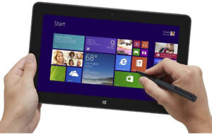 Dell tablet convertible 7130. eMMC Memory 128 GB