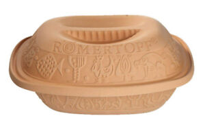 Romertopf 99111 Glazed Clay Cooker Made in Germany, Medium