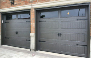 8x7 INSULATED GARAGE DOORS.... $900 INSTALLED