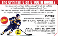 3 on 3 Youth Hockey