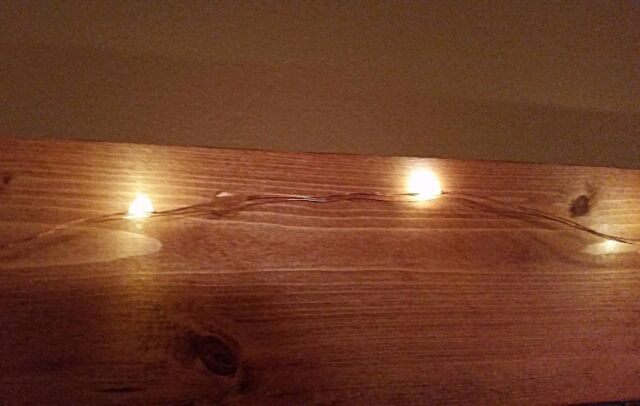 Warm Amber Dimmable 33' Copper Wire Led String Lights w/ Remote