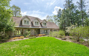 This fabulous `in town` home on the Muskoka River