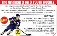 3-on-3 Youth Hockey. Our 13th year
