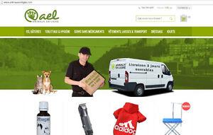 Animalerie boutique web spécialisé, animauxenligne.com