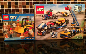 COLLECTABLE TOYS LEGO 3 IN 1 SET AND STARTER SET
