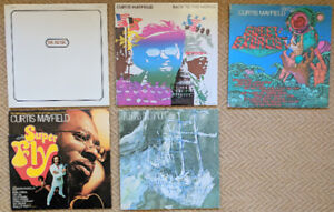 Dr. Music, Curtis Mayfield, Sir Lord Baltimore LPs for Sale!