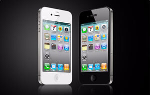 iphone4s work with bell and virgin with charger$99
