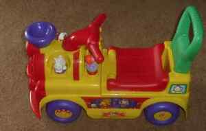 Fisher Price Little People Circus Train Riding Toy