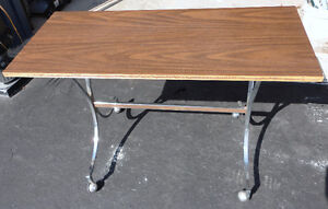 Wooden console table sofa table London Ontario image 4