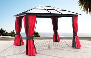 10x12 gazebo polycarbonate