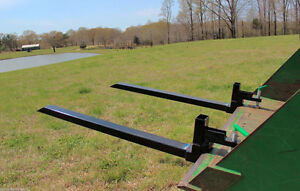 NEW 4000 LBS CLAMP LOADER PALLET TRACTOR FORKS ATTACHMENT