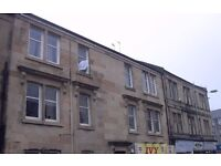 First floor, One Bedroom flat located on popular Glasgow Road, Paisley