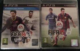 Fifa 14 & Fifa 15 PS3