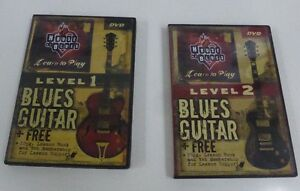 2 DVD's  House of Blues Learn to play guitar series