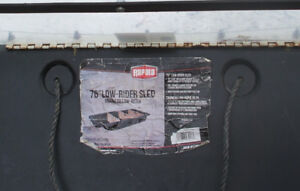 "76"" Rapala Low-Rider Sled/Sleigh"