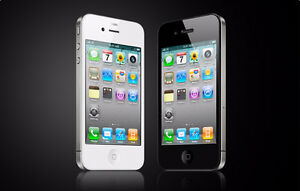 iphone4 work with bell and virgin with charger$99
