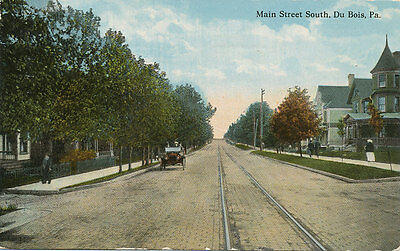 Dubois Pa   Main St  South   1914   Clearfield Co