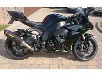 Kawasaki zx10r black edition . Cbr gsxr fireblade