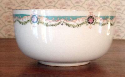 Vintage Alfred Meakin England Floral Serving Bowl