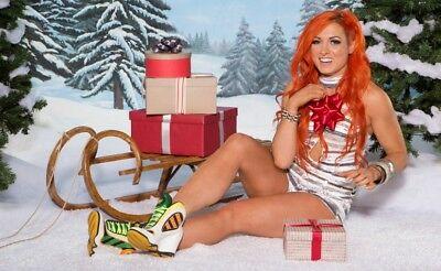 Becky Lynch Wwe Winter Wonderland Photo 4X6 8X10  Select Size   014