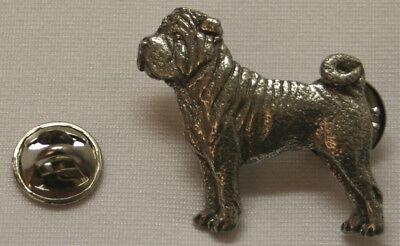 Shar Pei Jewelry (Shar Pei Dog Fine PEWTER PIN Jewelry Art USA)