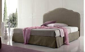 letto imbottito con rete da 180x200 cm king size letto contenitore ... - Letto Contenitore King
