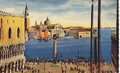 VENEZIA PIAZZETTA S. MARCO E CHIESA S. GIORGIO 1938