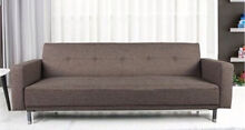 Grey Sofa Bed 3-seater Lounge Couch Vineyard Hawkesbury Area Preview