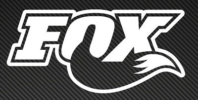 Fox logo Vinyl Sticker Decal Car Window Mountain Bike mtb