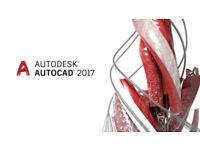 AUTODESK AUTOCAD 2017 PC--MAC: