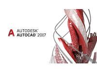 AUTODESK AUTOCAD 2017 EDIITON -PC/MAC: