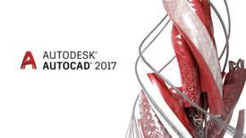 AUTODESK AUTOCAD 2017 MAC or PC