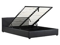 Double Ottoman Storage Bed used , NO time wasters please