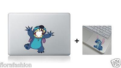 Stitch Apple Macbook Air Pro 13 15 17 Vinyl Sticker Skin Decal Cover Laptop