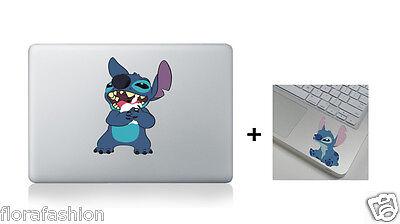 Stitch Apple Macbook Air Pro 13 15 17  Laptop Sticker Skin Decal Vinyl Cover