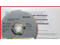 windows 7 pro Installation CD and licence Key - new unsed