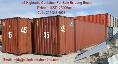 Special 45hc For Shipping Storage Container In Lalong Beach Ca 2300