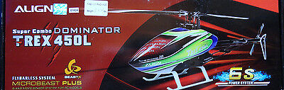 Align Trex 450 L Dominator 6S 450 Sized Electric Helicopter