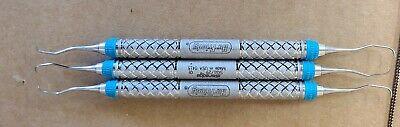 Lot Of 3 Hu-friedy Everedge Sg129 Dental Instruments 0415 Lot G