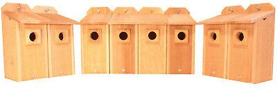 8 BlueBird Houses with Predator Guard Bird Houses