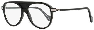 Moncler Aviator Eyeglasses ML5033 001 Shiny Black 55mm (Aviator Eyeglasses For Men)