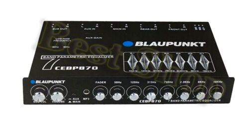 Blaupunkt CEB-P870 Half-Din Size Car Audio 7-Band Digital EQ/Equalizer