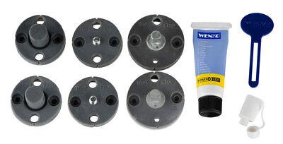 WENKO Power-Loc® Ersatz-Set Powerlochalter Klebesystembefestigung Klebehalterung Ersatz-set