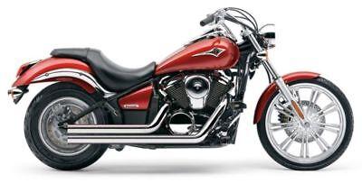 Cobra Chrome Speedster Shorts RPT Exhaust Pipes 2006-2016 Kawasaki Vulcan VN900