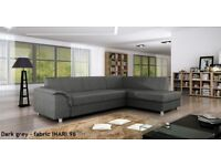 SPECIAL OFFER! Corner Sofa Bed bardot storage container NEW