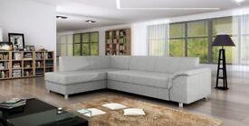 SPECIAL OFFER! Corner Sofa Bed bardot NEW