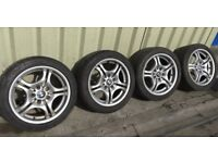 BMW M-Sport Set of Alloy Rims & Tyres