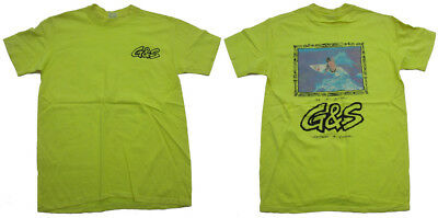 G&S / Gordon & Smith Vintage Surf Tee Shirt  - Original '80s Surfing Retro SM