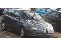 Cheap Car for Sale - Alfa Romeo 147 £725 Recent CAMBELT / TIMING BELT and NEW EXHAUST!!!!